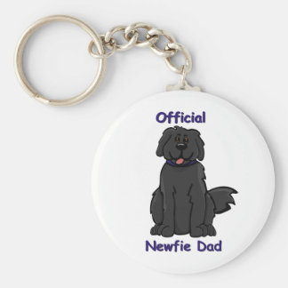 Newfie Dad Key Ring
