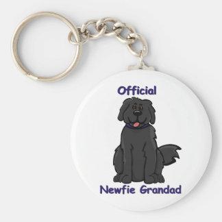newfie grandad key ring