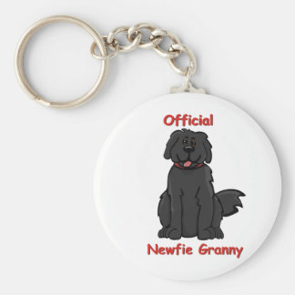 newfie granny key ring