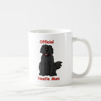 newfie mum basic white mug