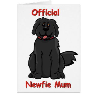 newfie mum greeting card