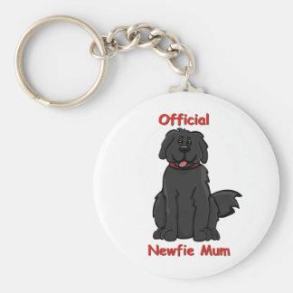 newfie mum key ring