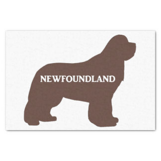 newfie name silo brown tissue paper