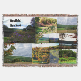NEWFIELD NEW YORK throw