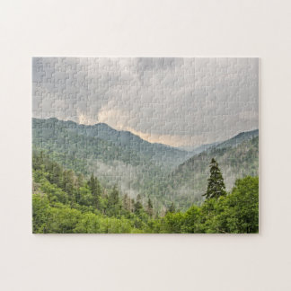 Newfound Gap - Great Smoky Mountains National Park Jigsaw Puzzle