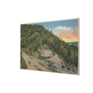 Newfound Gap, TN - Laura Spelman Memorial Canvas Print