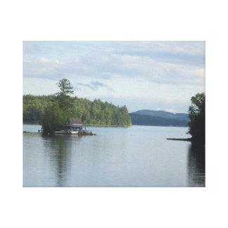 Newfound Lake Canvas Print