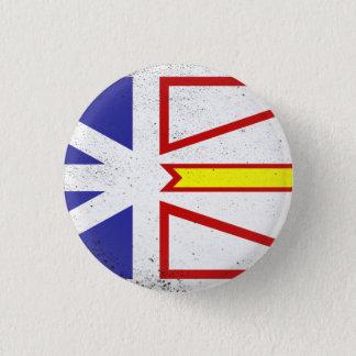 Newfoundland and Labrador 3 Cm Round Badge