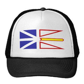 Newfoundland And Labrador flag Trucker Hat