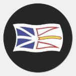 Newfoundland And Labrador Flag Sticker