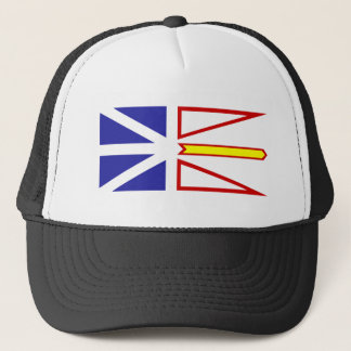 Newfoundland And Labrador flag Trucker Hat