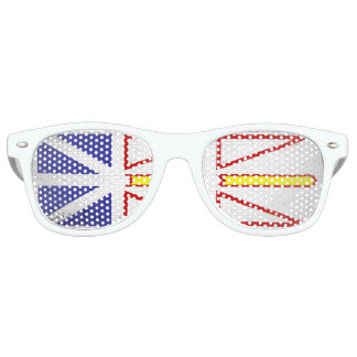 Newfoundland and Labrador Retro Sunglasses