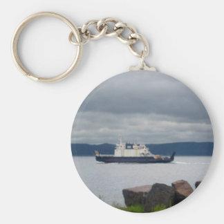 Newfoundland Bell Island Ferry Flanders Key Ring
