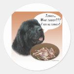 Newfoundland (blk) Turkey Stickers