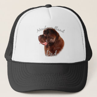 Newfoundland (brown) Dad 2 Trucker Hat