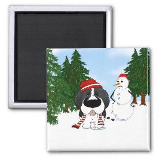 Newfoundland Christmas Magnet