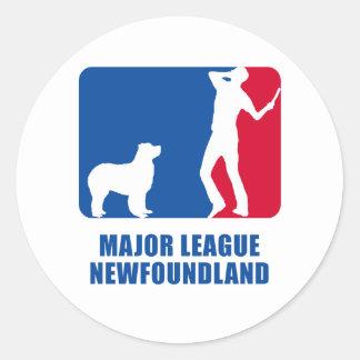 Newfoundland Classic Round Sticker
