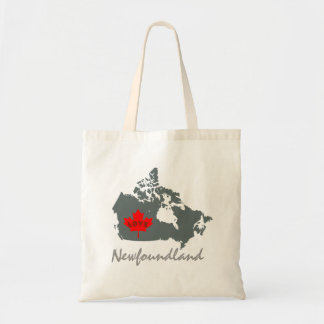 Newfoundland Customize Canada Province bag