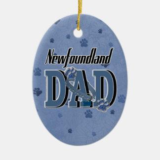 Newfoundland DAD Ceramic Oval Decoration