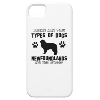Newfoundland dog breed designs iPhone 5 covers
