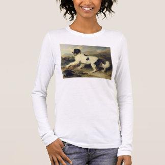 Newfoundland Dog Called Lion, 1824 (oil on canvas) Long Sleeve T-Shirt