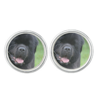 Newfoundland Dog Cuff Links
