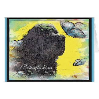 Newfoundland Dog Greeting Card