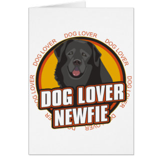 Newfoundland Dog Lover Card