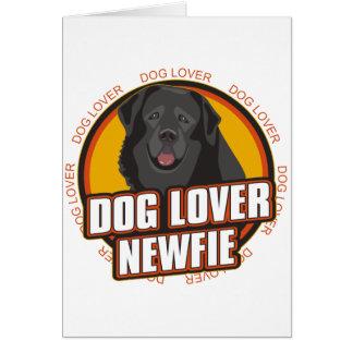 Newfoundland Dog Lover Greeting Cards