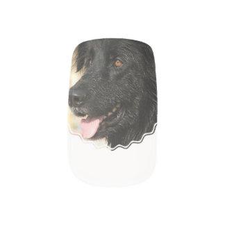 Newfoundland Dog Minx Nail Art