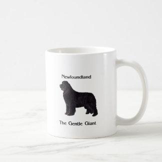 Newfoundland Dog The Gentle Giant Coffee Mug