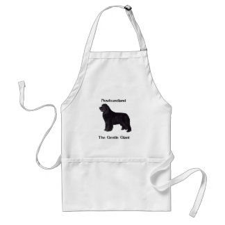 Newfoundland Dog The Gentle Giant Standard Apron