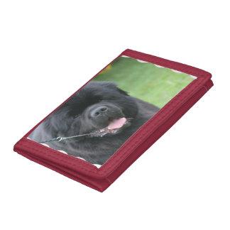 Newfoundland Dog Tri-fold Wallets