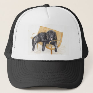 Newfoundland Dog Trucker Hat