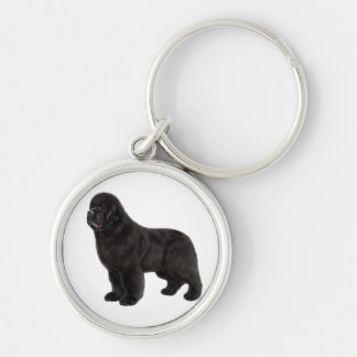 Newfoundland Drawing Key Ring