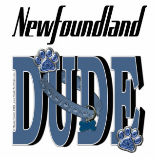 Newfoundland DUDE Standing Photo Sculpture