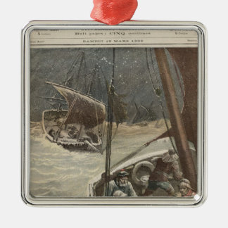 Newfoundland Fishermen Christmas Ornament