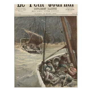 Newfoundland Fishermen Postcard