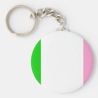 Newfoundland flag key ring