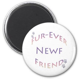 Newfoundland Fur-ever Friend Fridge Magnets