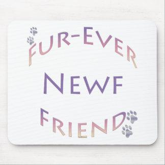 Newfoundland Fur-ever Friend Mouse Mat