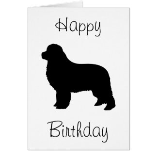 Newfoundland Happy Birthday Card
