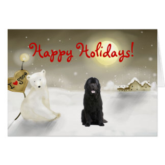Newfoundland Holiday Card