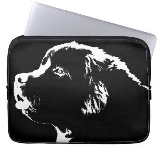 Newfoundland Laptop CaseNewfoundland Dog Gifts Laptop Sleeve