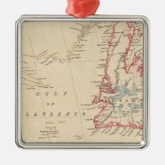Newfoundland, New Brunswick, Nova Scotia Christmas Ornament