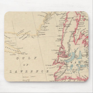 Newfoundland, New Brunswick, Nova Scotia Mouse Mat