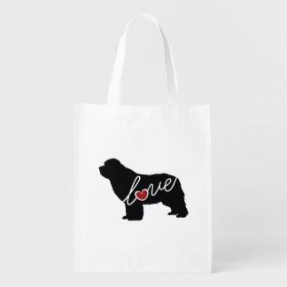 Newfoundland (Newfie) Love Reusable Grocery Bag