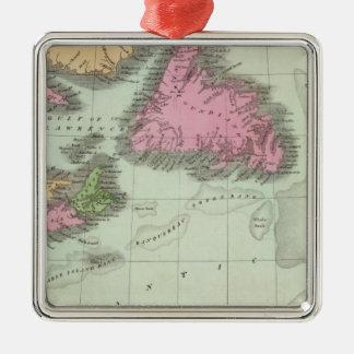 Newfoundland Nova Scotia And New Brunswick Christmas Ornament