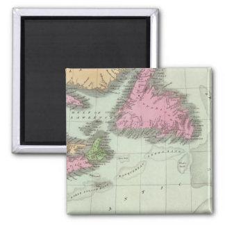 Newfoundland Nova Scotia And New Brunswick Magnet