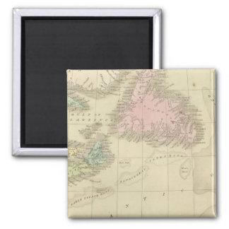 Newfoundland, Nova Scotia, and New Brunswick Magnet